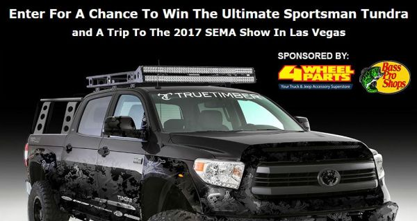 SEMA Show In Las Vegas! Sweepstakes