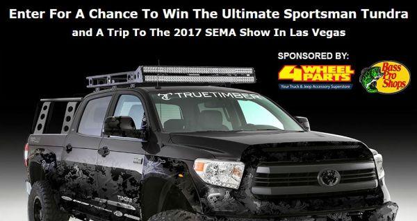 SEMA Show In Las Vegas! Sweepstakes