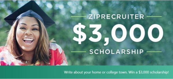 ZipRecruiter Scholarship Program