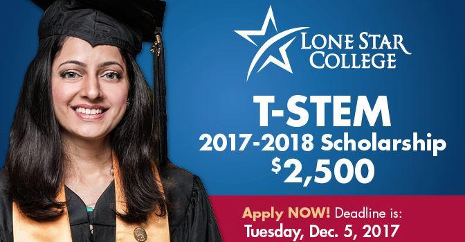 Lone Star College System T-STEM Scholarship