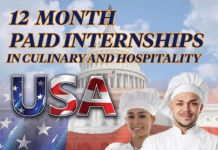 Worldwide Internship Paid Hospitality & Culinary Internship in the USA