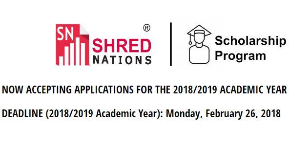 Shred Nations Scholarship Program