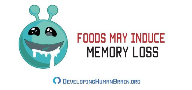 food can induce memory loss