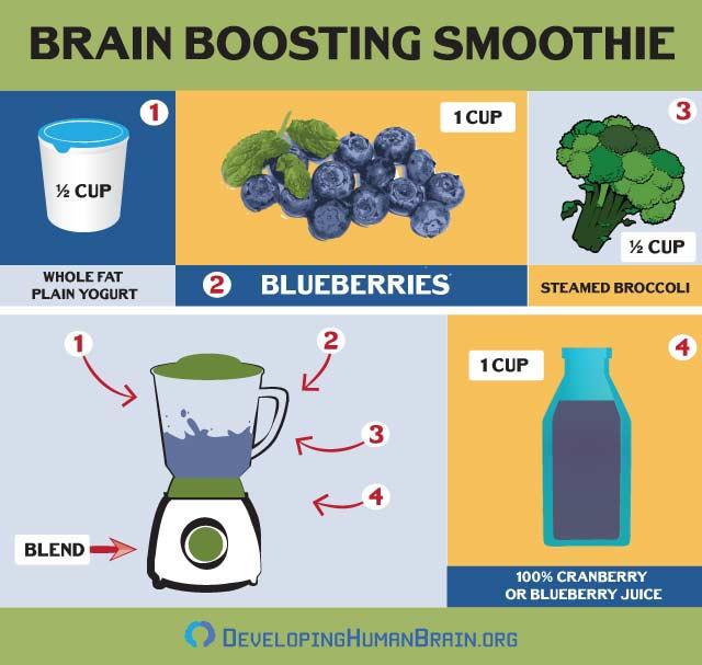 brain smoothie recipe