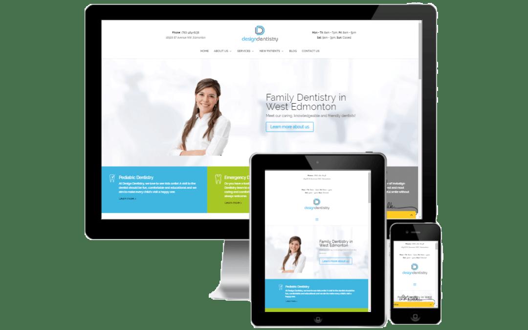 DesignDentist Website
