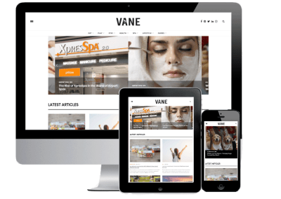 Magazine Vaneairport Website