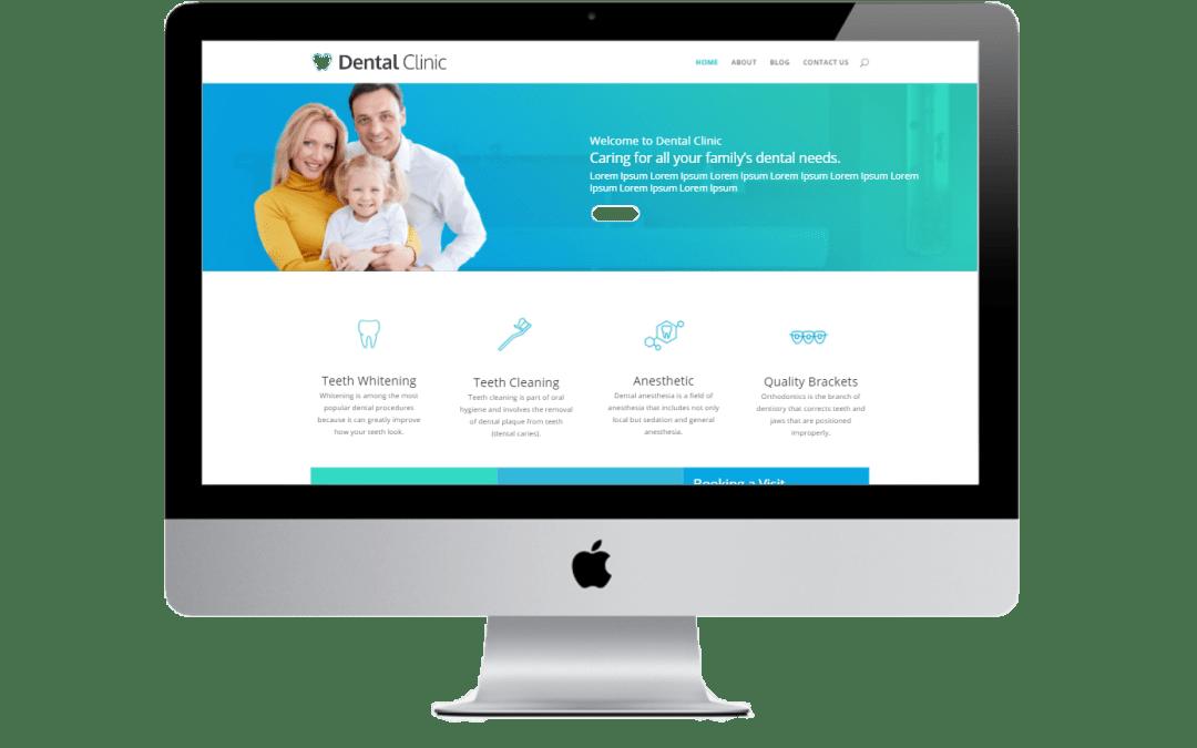 Dental Website in Divi