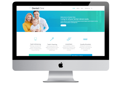 Dental Website in Divi