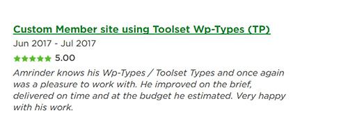 wp-types-expert amrinder singh