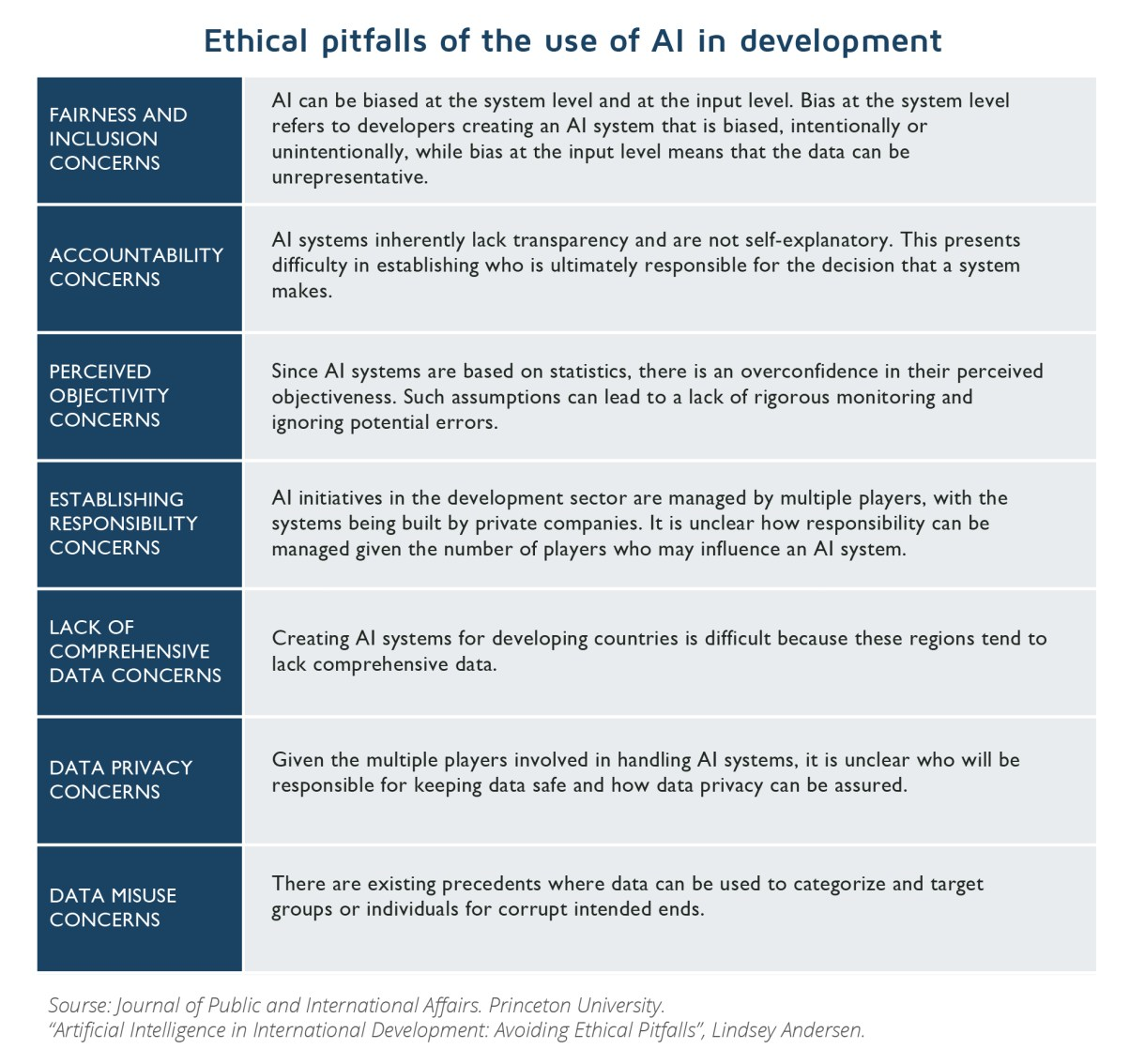 AI technology in the Development Sector