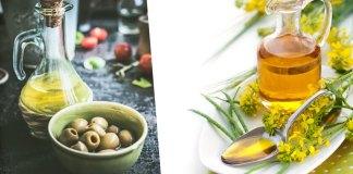 Minyak Zaitun atau Minyak Kanola