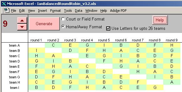 round robin tournament generator online myvacationplan org
