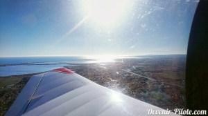 Départ de Montpellier en avion DRæc400