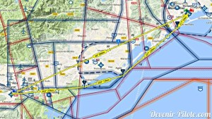 Plan de navigation de LFMT vers LFMZ