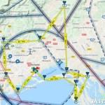 vol local tour CTR LFMT Montpellier (carte VFR Mach7)