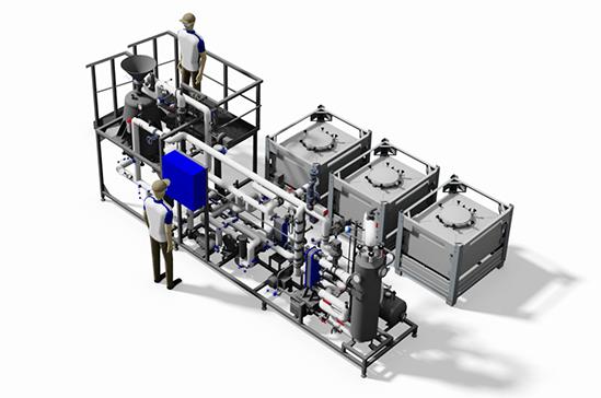 DEVEX CryoEXS plant