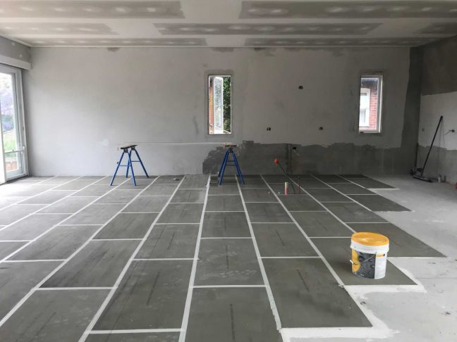 thermal insulation for radiant floor