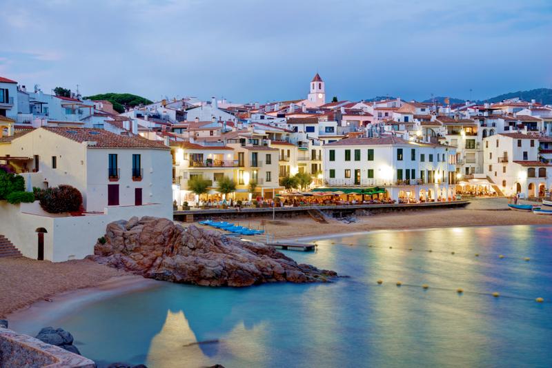 Calella de Palafrugell en Cataluña