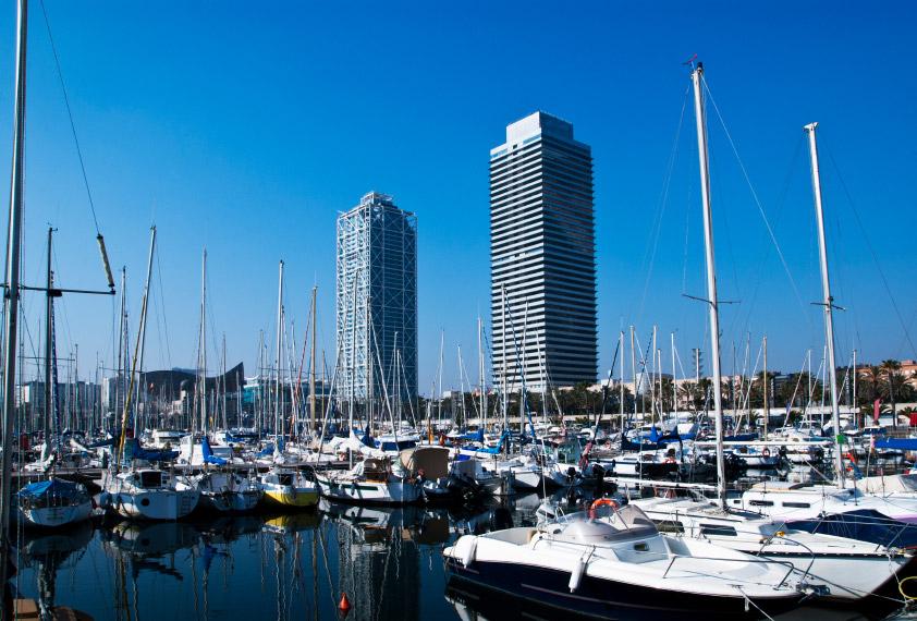 El Puerto Olímpico de Barcelona