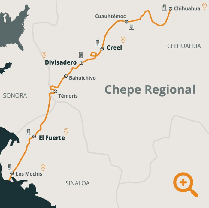 Ruta Tren Chepe – De Viaje por Chihuahua