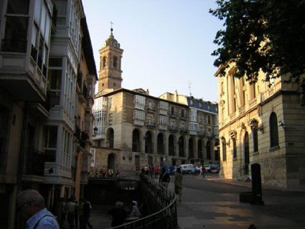 Iglesia de San Vicente Mártir en Vitoria