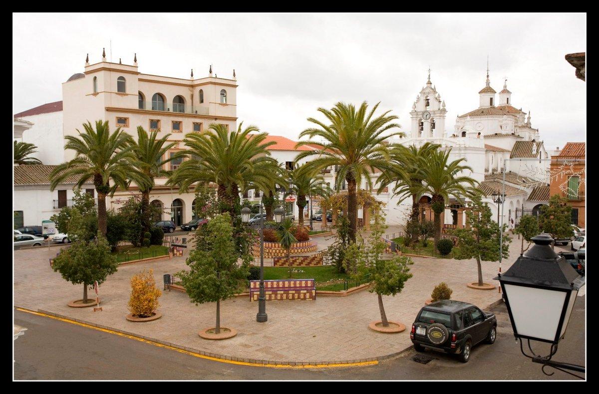 De paseo por Azuaga en Extremadura