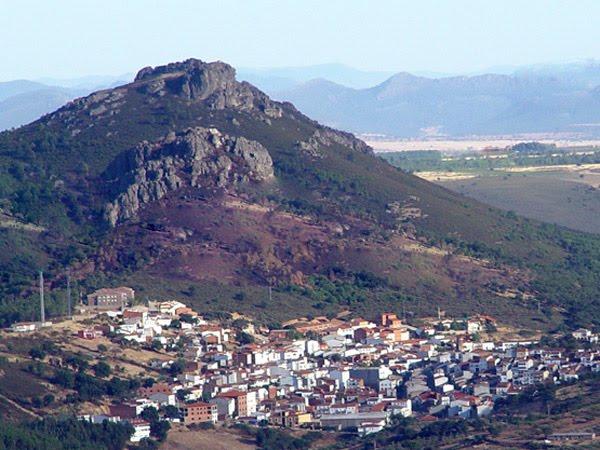 De paseo por Cañamero en Badajoz