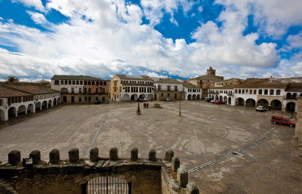 Garrovillas de Alconétar en Extremadura