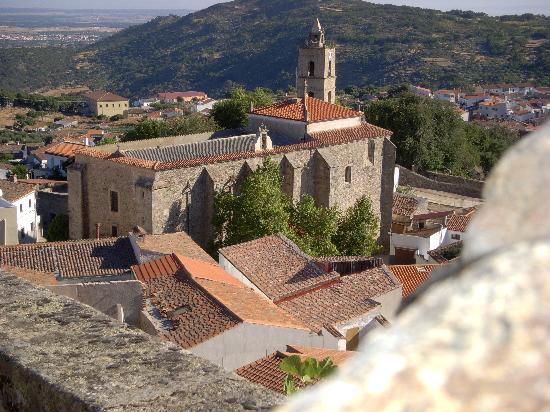 De paseo por Montanchez en la provincia de Cáceres