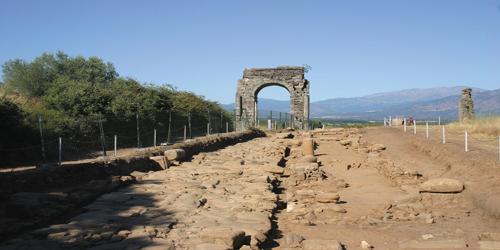 La via de la Plata en Extremadura