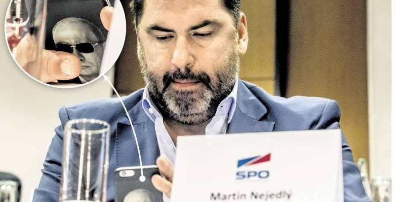 Martin Nejedlý - Advisor to the President of the Czech Republic, source: lidovky.cz