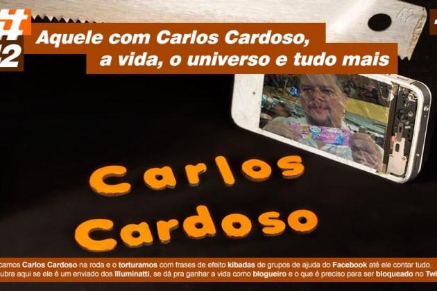 Scicast #42: Carlos Cardoso, a vida, o universo e tudo mais