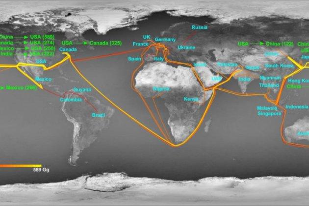 Mapeamento Global do Nitrogênio feito pela primeira vez