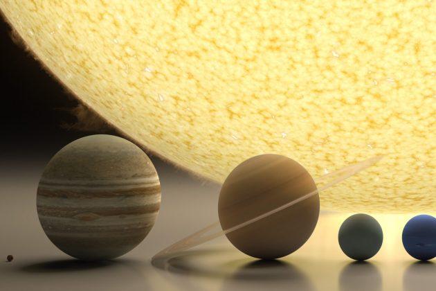 Agora você pode ver 5 planetas do sistema solar de uma vez a olho nu
