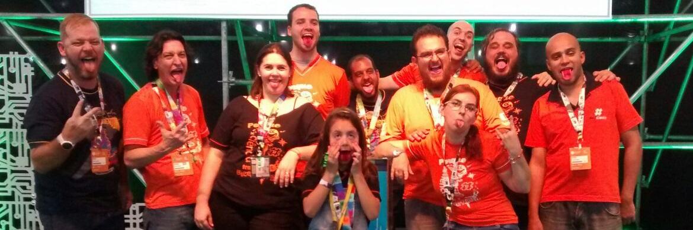 O lado laranja da Campus Party 2016