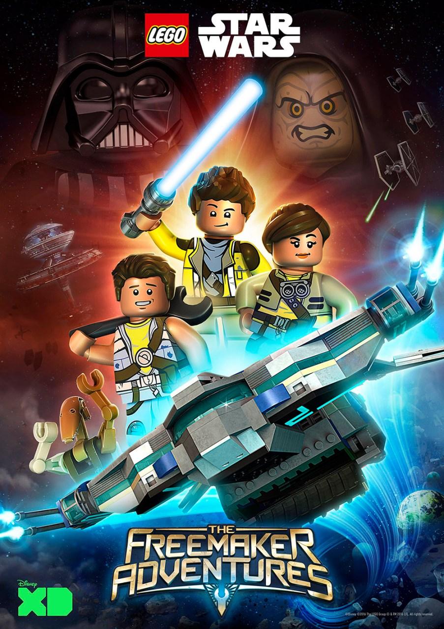 Nova série Star Wars em Lego (finja surpresa!)