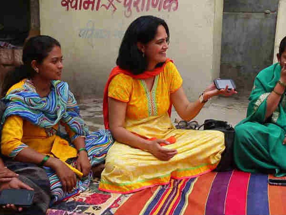 Aplicativo para smartphone aumenta o uso de contracepção na Índia
