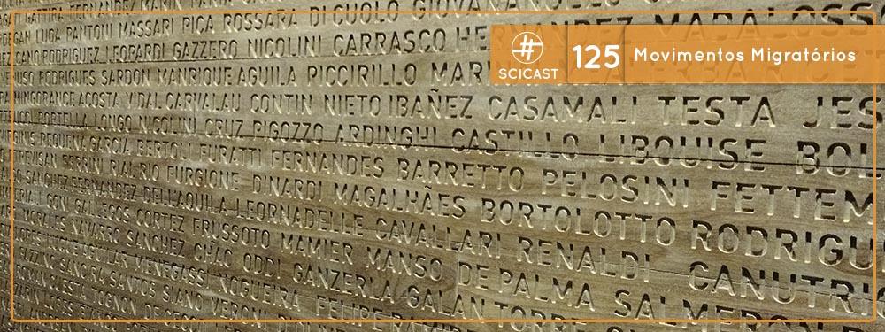 Scicast #125: Movimentos Migratórios