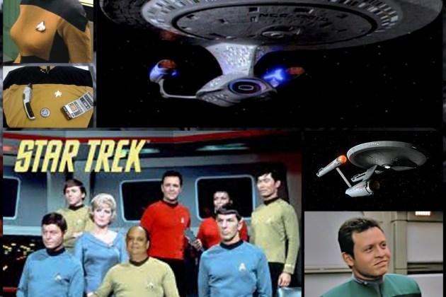 Quem já foi passageiro em Star Trek?