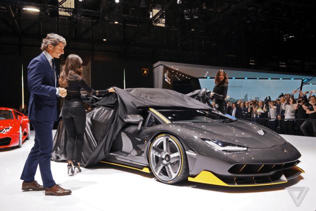Lamborghini Centenario LP770-4   Geneva Motor Show 2016