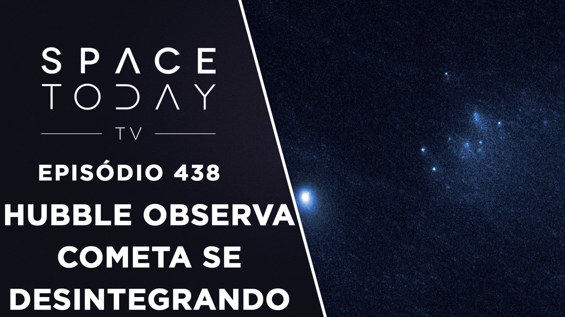 Hubble Observa Cometa Se Desintegrando – Space Today TV Ep.438