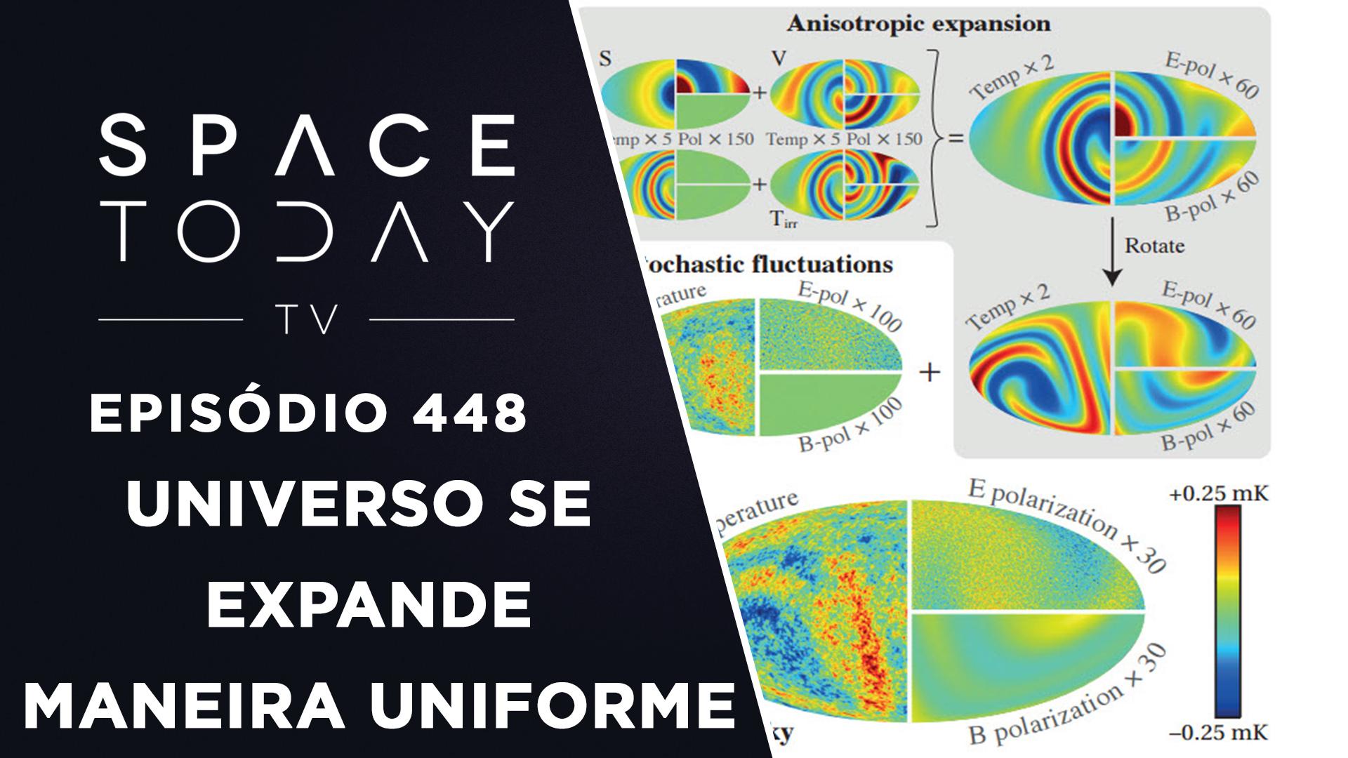 O Universo Se Expande de Maneira Uniforme – Space Today TV Ep.448