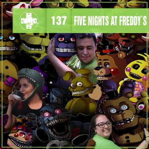Vitrine do MeiaLuaCast sobre a franquia Five Nights at Freddy's