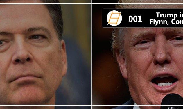 Chute 001 – Trump investigado: Flynn, Comey, Kislyak & Cia