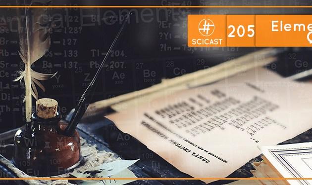 SciCast #205: Elementos Químicos