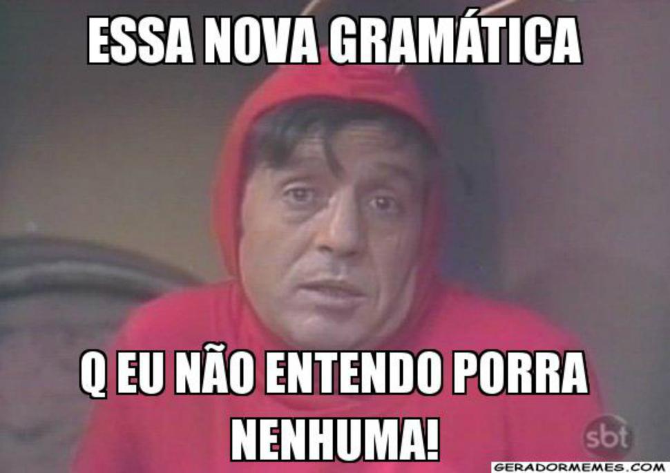 Saber português não é saber gramática