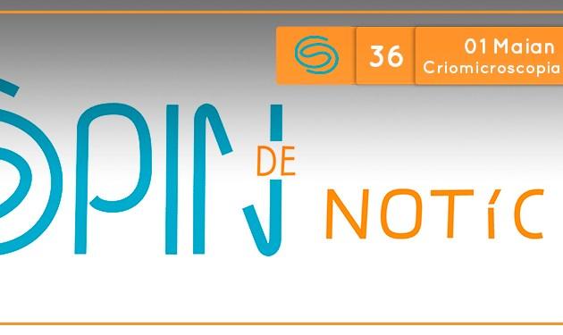 Spin de Notícias #36: 01 Maian 2017 (06/11/2017) Química das plantas, Criomicroscopia e Nanogeradores