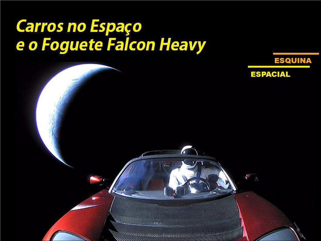 Carros no Espaço e o Foguete Falcon Heavy