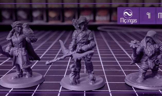 Impressora 3D e RPG (Miçangas #91)