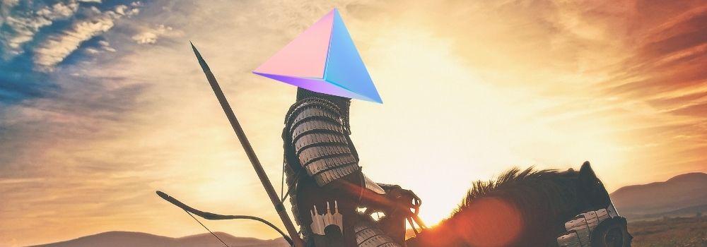 Na dungeon dos polígonos, o triângulo é o paladino!